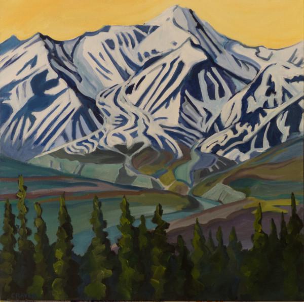Rocky Glacier, Yukon