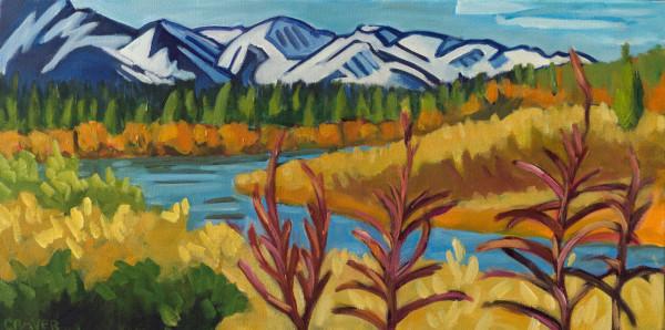 Yukon Fall Fireweed