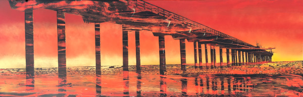 Golden Red Pier