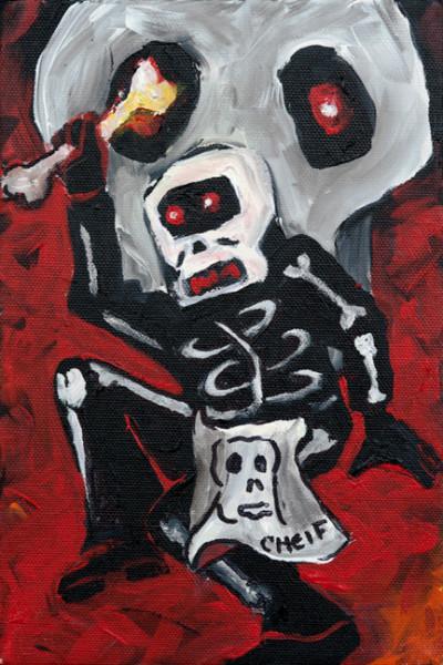 Red Skull n Bones