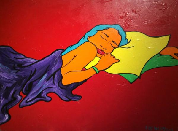 Heather Sleeping