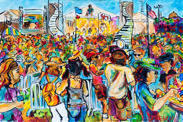 2011 NO Jazz Fest Scene