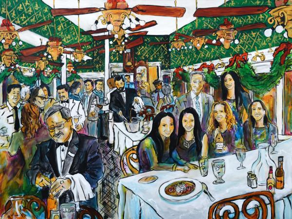 Klausner Family NOLA Christmas Party Dinner