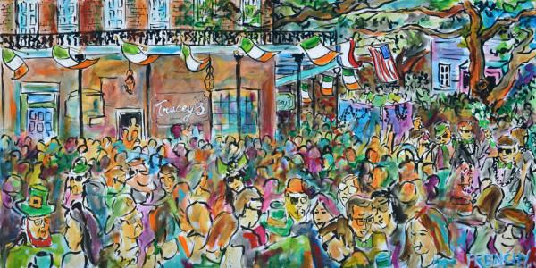 2013 St Patty's Day Celebration: Tracey's Bar