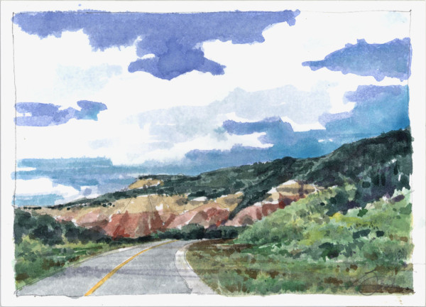 Hwy 84 Southbound - New Mexico