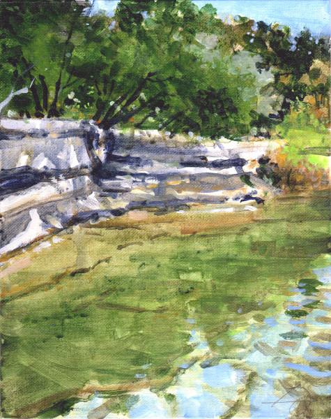 Lower Bull Creek Ledge
