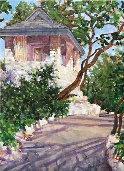 Tea House - Zilker Botanical Garden Austin, Texas