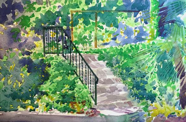 Garden Staircase 2