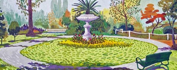 Garden Path(dyptych)