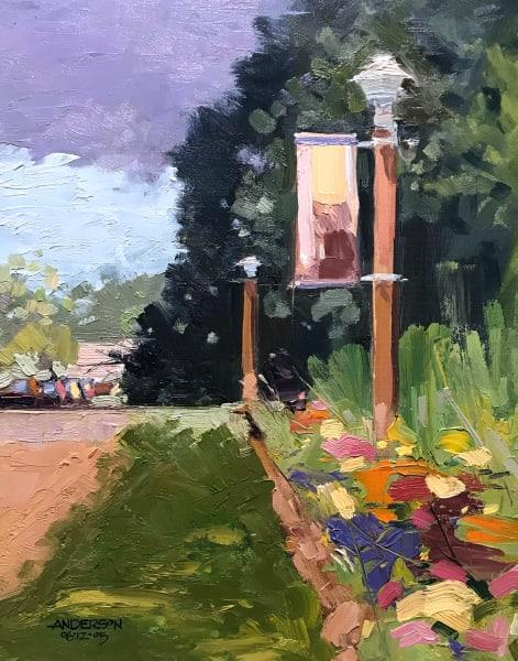Shrine Lamp Post, 07/12/2005