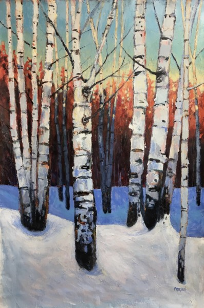 Sleeping Birches 1
