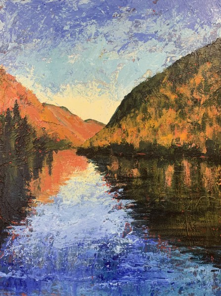 Cascade Lake (Autumn Glow)