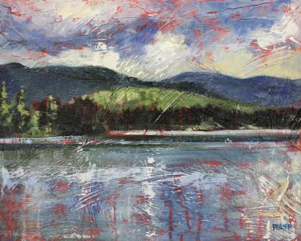 Lake, Wind and Sky