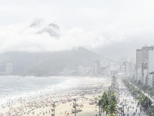 Entardecer no Rio de Janeiro