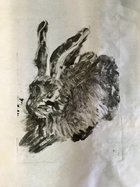 Young Hare - Ode' to Albrecht Durer