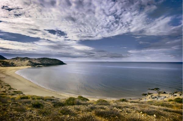 Sonoran Desert Coastline South of Kino Bay