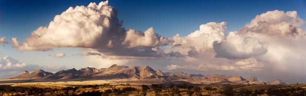 Mustang Mountains Panorama