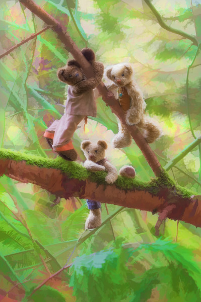 Bramble Glen Bears Climbing