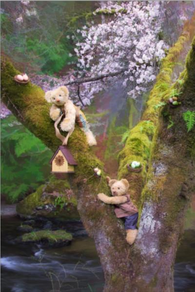 Bramble Glen Bears in Cherry Tree