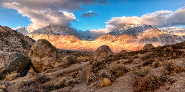 The Buttermilks at Sunrise