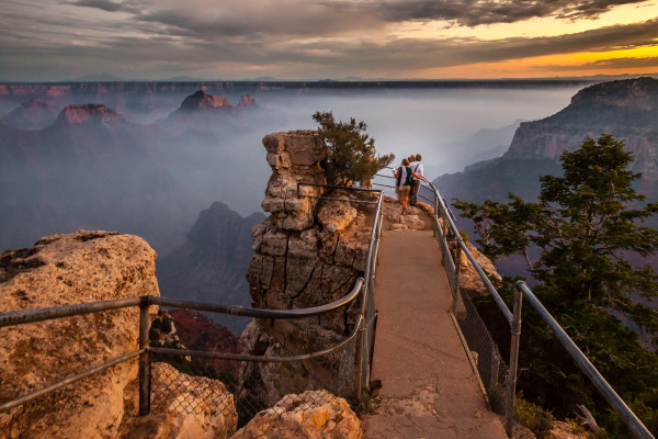 Fog in the Canyon - Grand Canyon