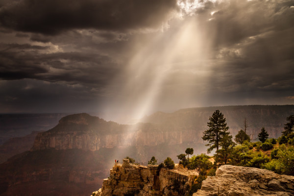 Heavenly Rays - Grand Canyon