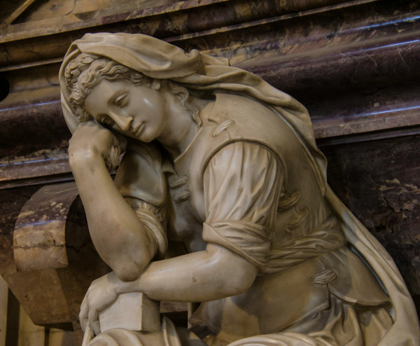 The Figure of Painting Grieving over Michelangelo, Florence