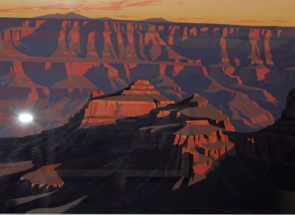 Shadows on the South Rim