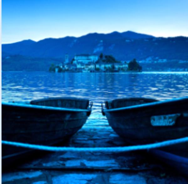 Lake Orta, Italia