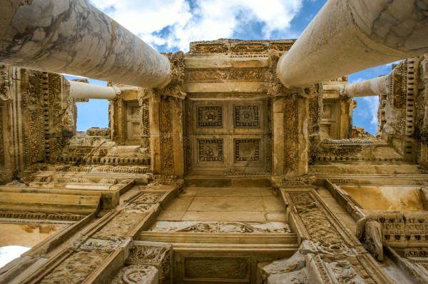 The Library of Celsus, Turkey