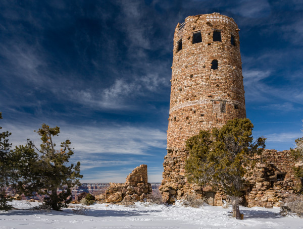 Watch Tower in Winter