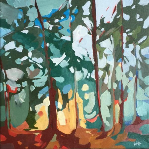 Sunset Through Trees 3