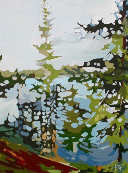 Lake and Moss