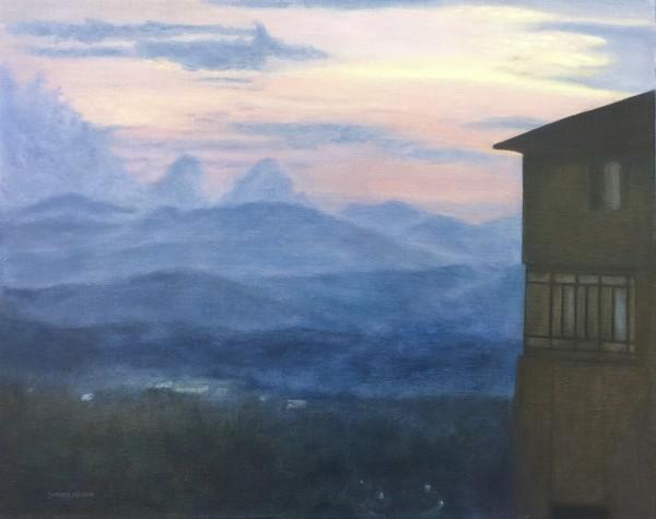 Blue Ridge Mountain Whispers, 16 x 20 original oil © Sherry Leigh Mason