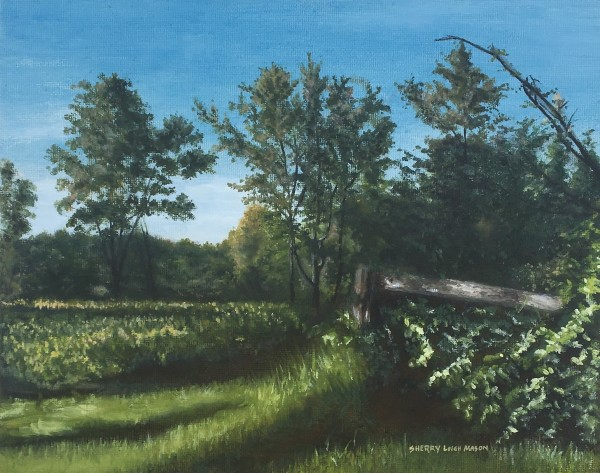Pure Country, 8 x 10 original oil © by Sherry Leigh Mason