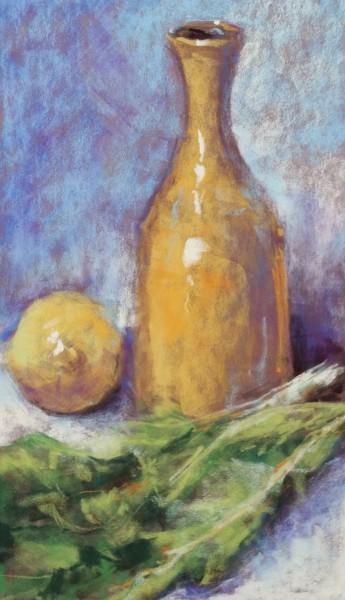 Jar, Lettuce & Lemon