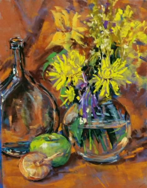 Glass, Flowers