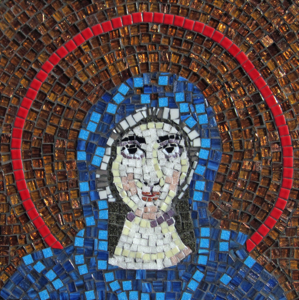 Apse Mosaic from Hagia Sophia