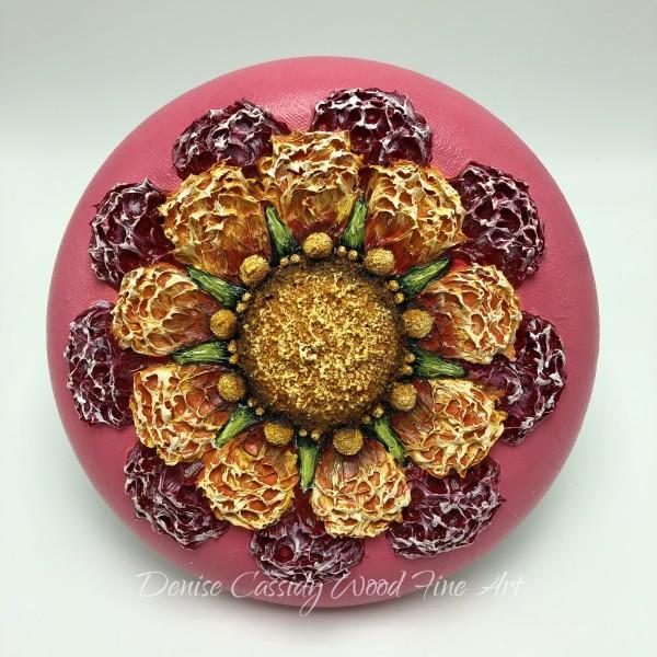 Sm. Mandala - Pink #835