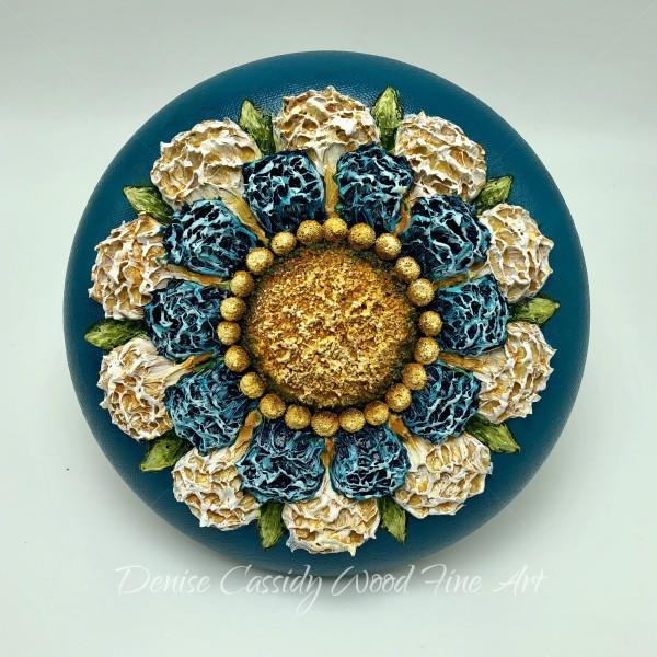 Sm. Mandala - Turquoise #837