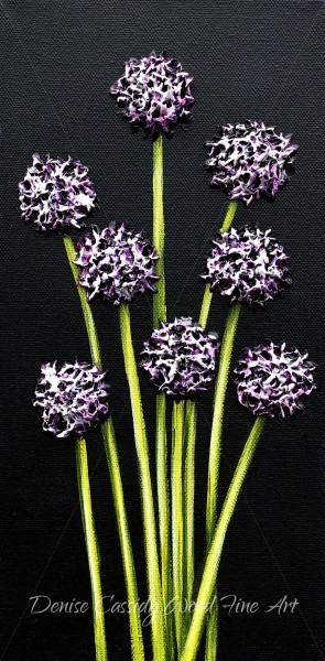 Small Works - Purple #849