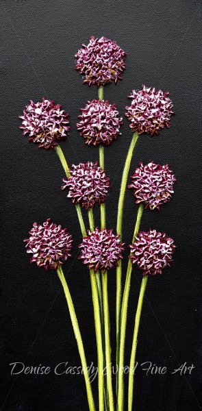 Small Works - Pink Chives #872