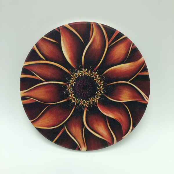 Coasters - Orange Zinnia
