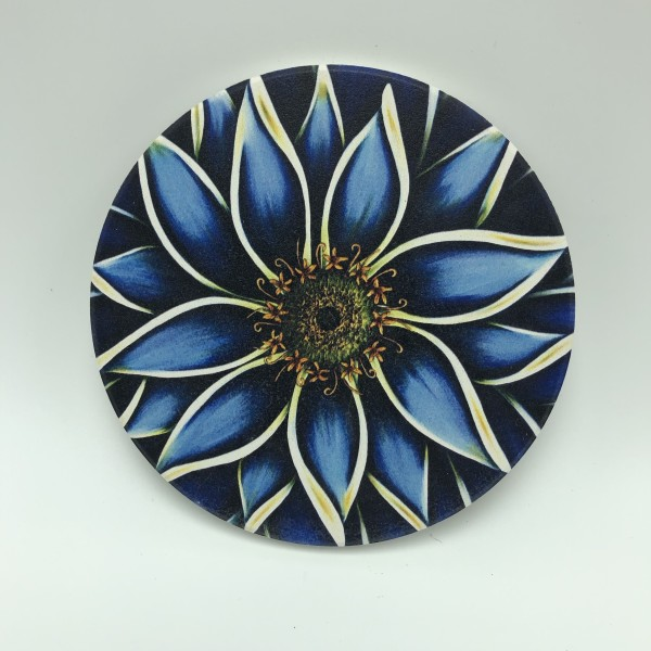 Coasters - Blue Zinnia
