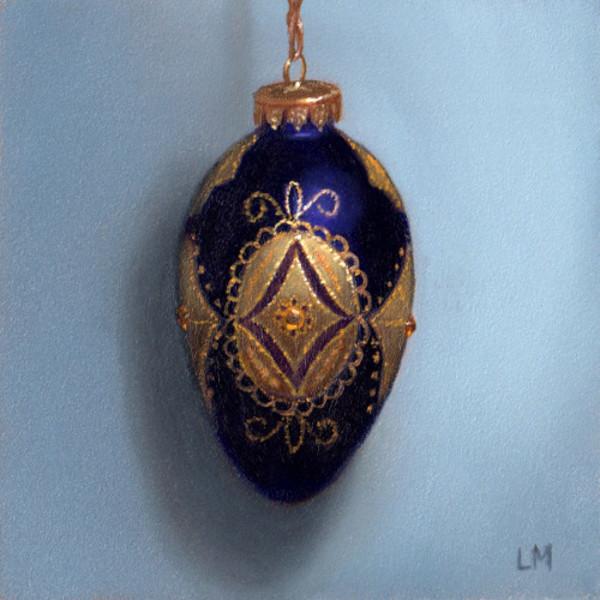 Purple Filigree Ornament SOLD