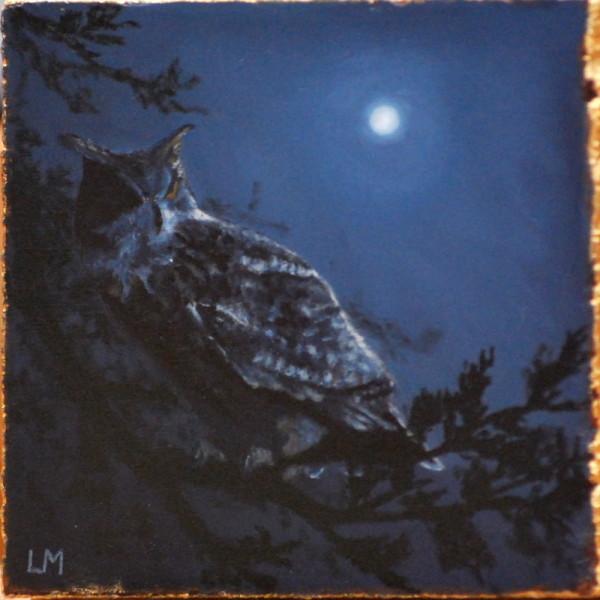 Night Owl Tile SOLD