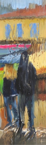 Corsica Through a Rainy Window