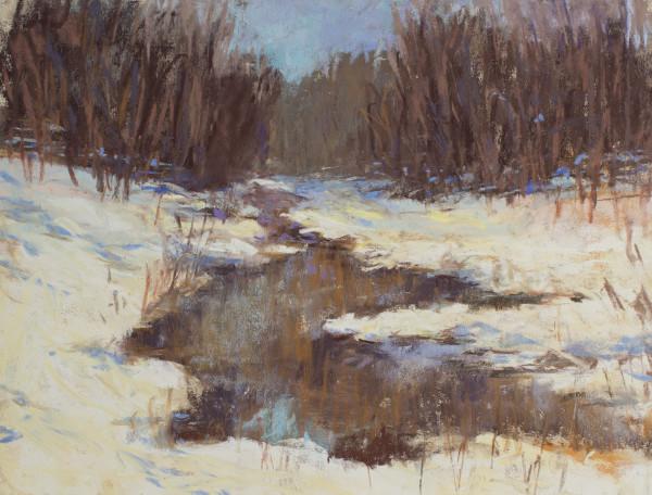 Winter creek, Demo Painting
