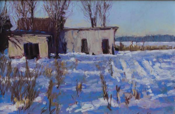 Winter Cornfield #2