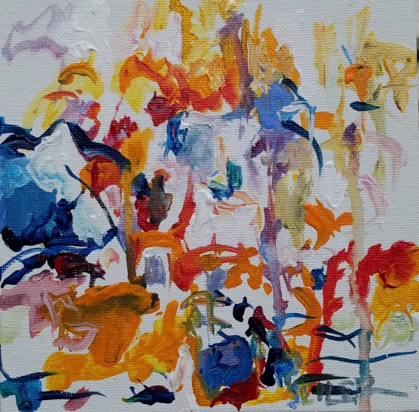 Homage to Joan Mitchell #1